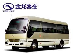 成都租中巴车-金龙中巴车