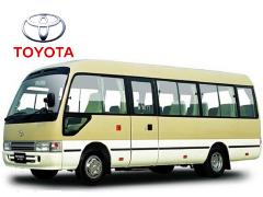 成都租中巴车-丰田柯斯达