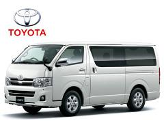 成都租中巴车-丰田海狮标准版13座